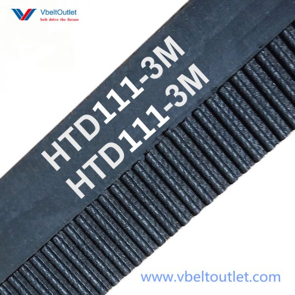HTD 111-3M Timing Belt Replacement 37 Teeth