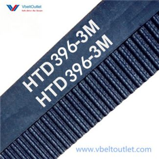 HTD 396-3M Timing Belt Replacement 132 Teeth 396 Length