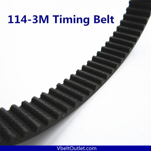 HTD 114-3M Timing Belt Replacement 38 Teeth