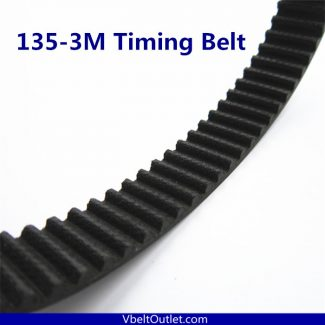 HTD 135-3M Timing Belt Replacement 45 Teeth