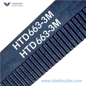 HTD 663-3M Timing Belt Replacement 221 Teeth