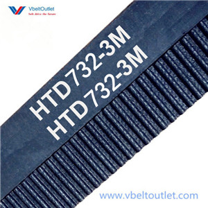 HTD 732-3M Timing Belt Replacement 244 Teeth