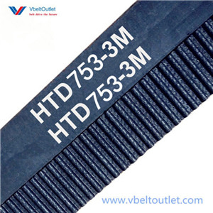 HTD 753-3M Timing Belt Replacement 251 Teeth