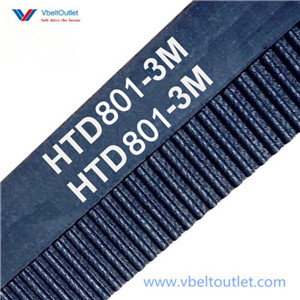 HTD 801-3M Timing Belt Replacement 267 Teeth