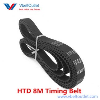 HTD 1000-8M 125 Teeth Timing Belt Replacement