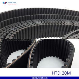 HTD 2000-20M 100 Teeth Timing Belt