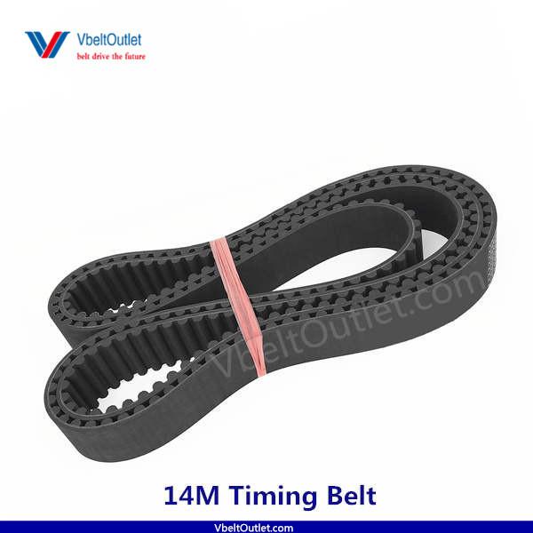 D/&D PowerDrive 2450-14M-110 Timing Belt