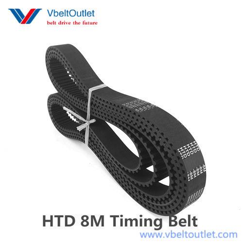 HTD 2768-8M 346 Teeth Timing Belt