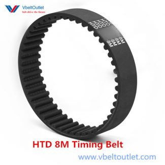 8mm Pitch 25mm Width 450 Teeth 3600-8M-25 HTB Timing Belt3600mm Length