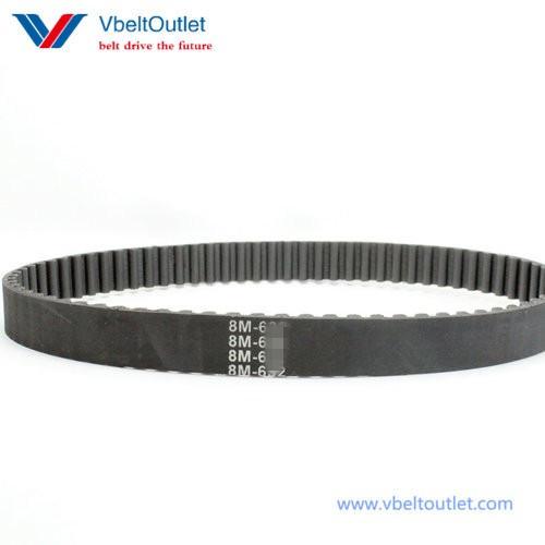 40mm Width 8mm Pitch 600-8M-40 HTB Timing Belt600mm Length 75 Teeth