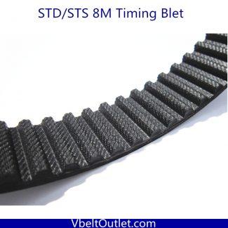 STD S8M-1080 135 Teeth Timing Belt