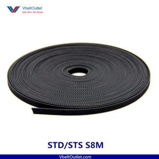 STD S8M Open Timing Belt