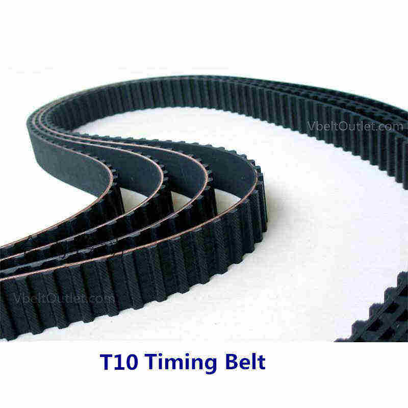 25AT10//1080 Timing Belt1080mm Length 108 Teeth 25mm Width AT10mm Pitch