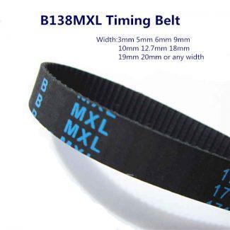 B138MXL Timing Belt Replacement 138 teeth